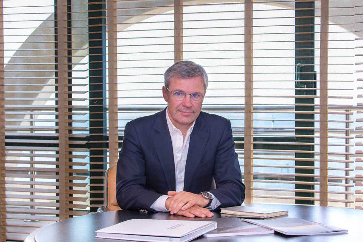 Herve Gastinel, CEO Groupe Beneteau