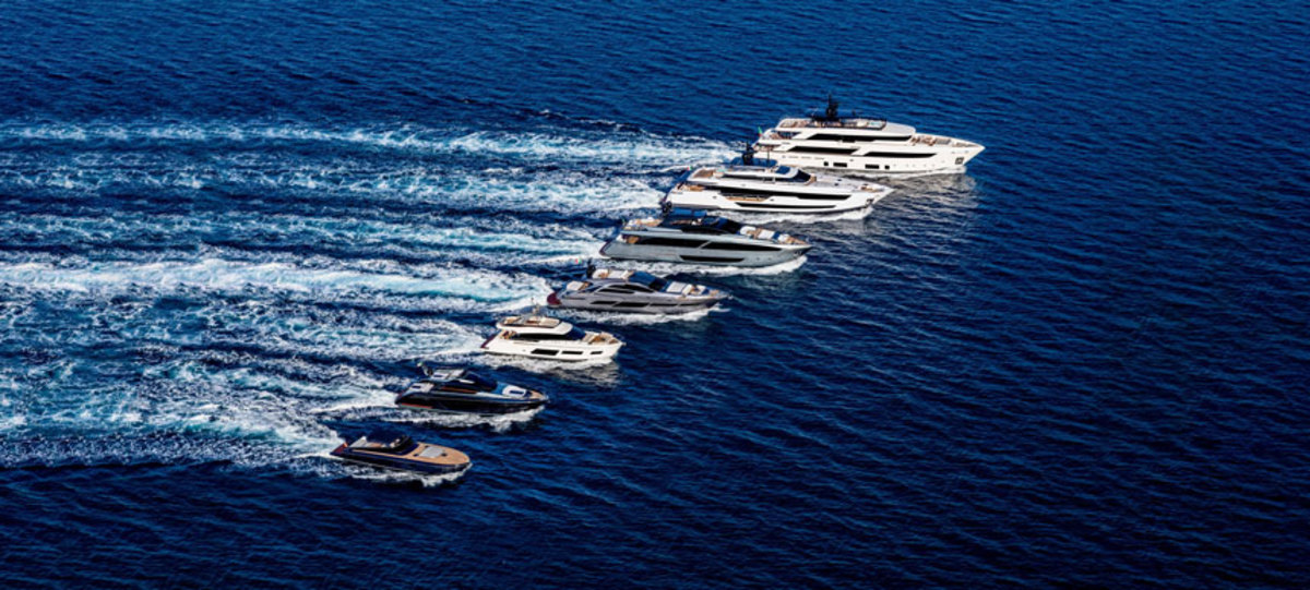 The company will debut five new yachts in Cannes
