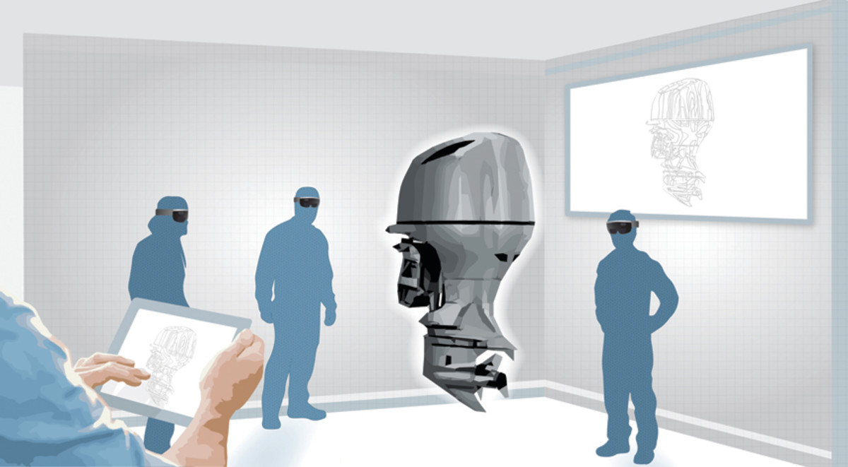 New product development can be accelerated with the use of augmented reality.