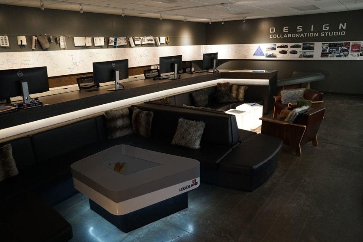 Designed for maximum creativity,  Nautique's modern studio reflects a changing attitude toward new product development.