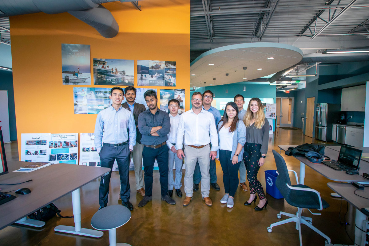 I-JET's Kollmann and his young, smart and multicultural staff want to change the way people boat.