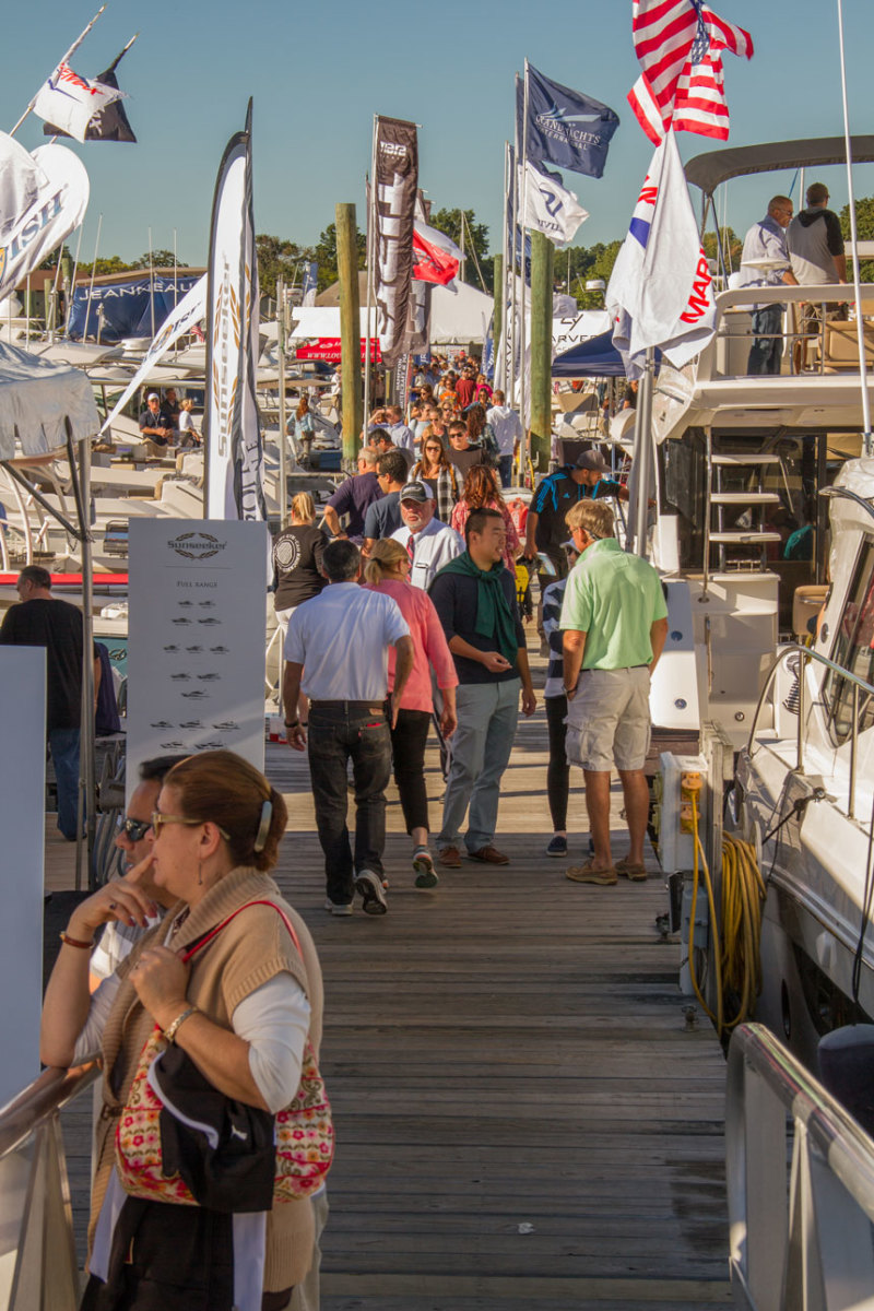 "The show will offer an expanded ""Touch-a-Boat Tour,"" hands-on courses from BoatUS, new free water taxi transport to the show, and Fred's Shed DIY seminars."