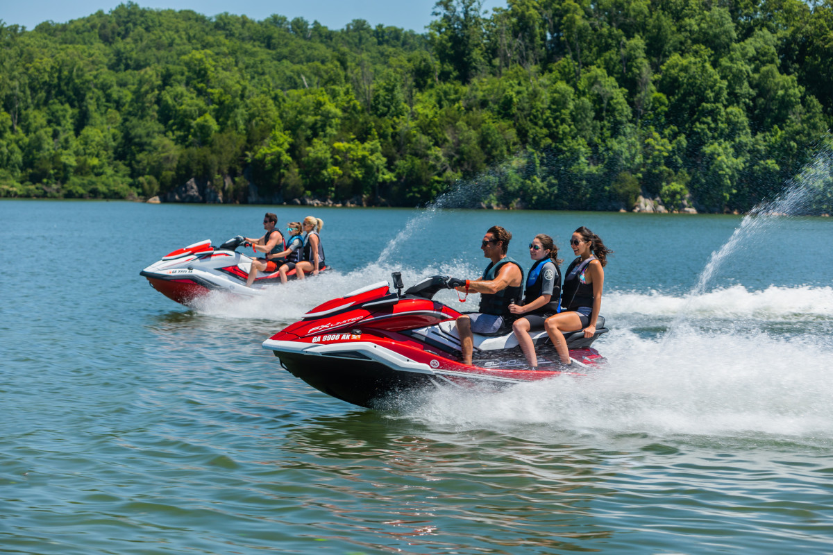 Personal watercraft accounted for the largest percentage of shipments in June.