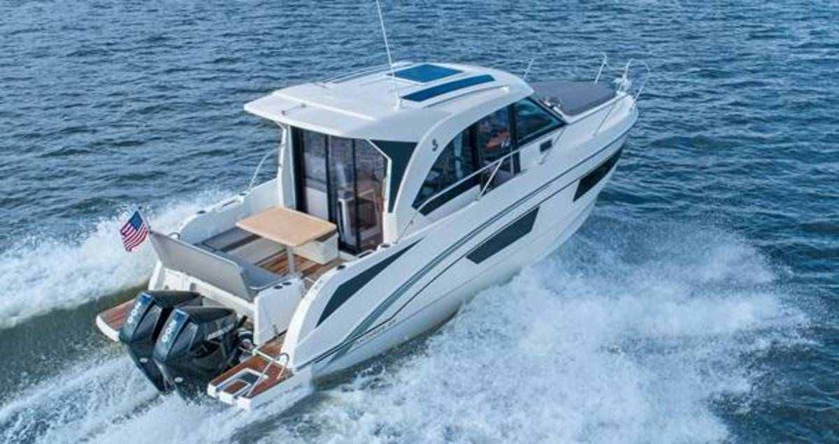 Mercury's new V-6 outboards will be the exclusive power for Beneteau boats sold in North America.