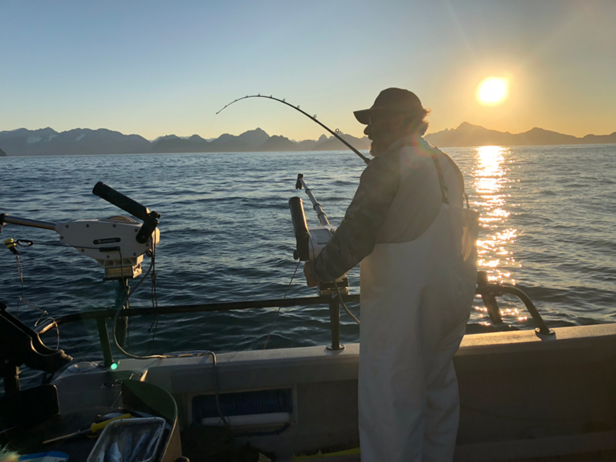 Charter captains like Andy Mezirow with Gray Light are frustrated the scarcity of king salmon.