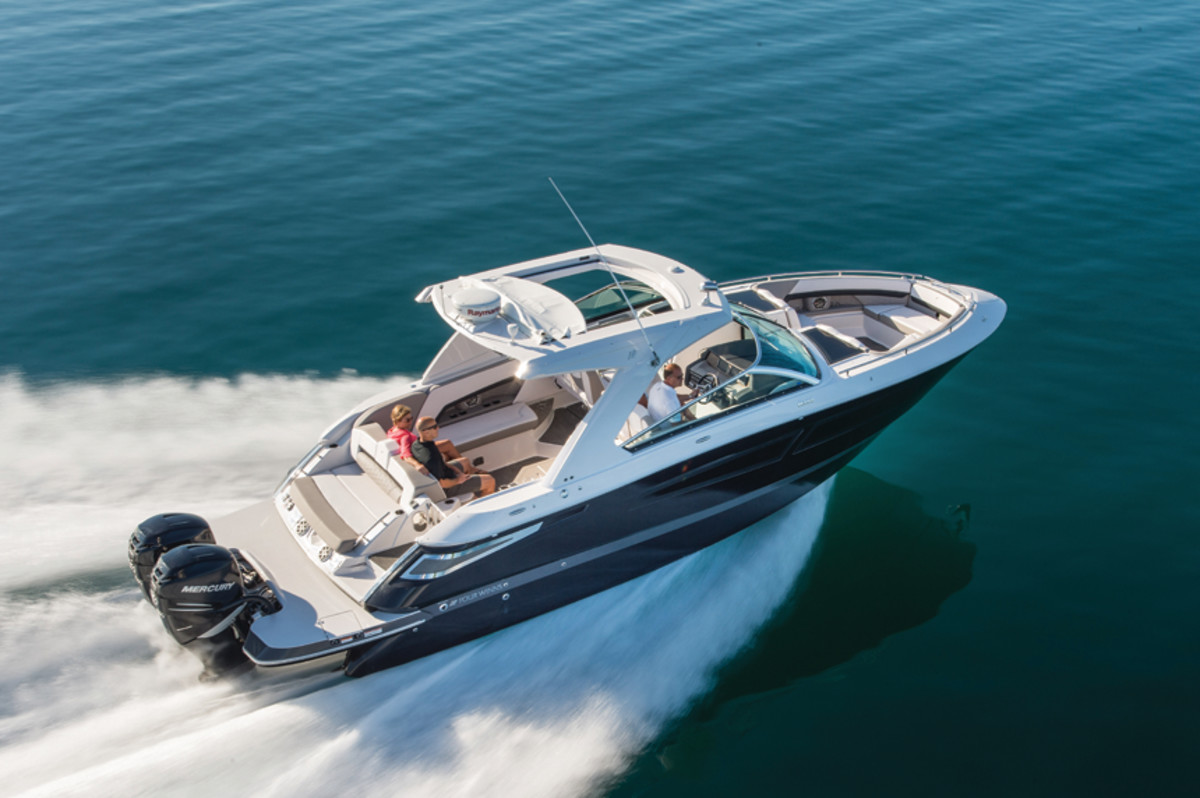Four Winns continues to design new models in both outboard and sterndrive configurations.