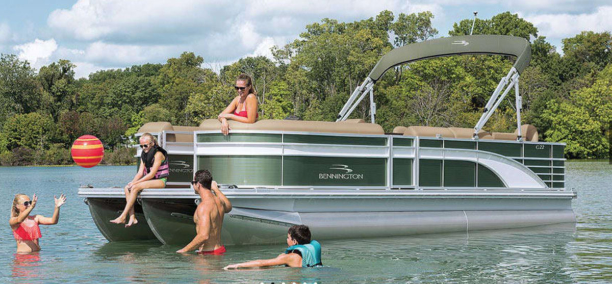 Polaris entered the boating industry in May when it purchased four boat brands, including pontoon builder Bennington.