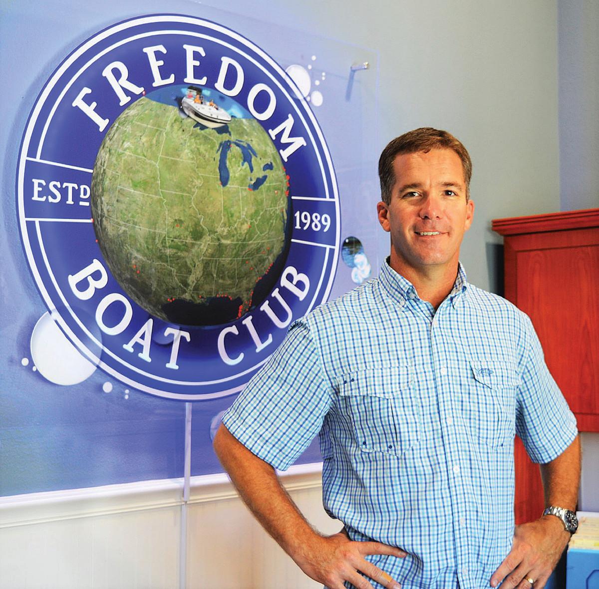 John Giglio, president of Freedom Boat Club.