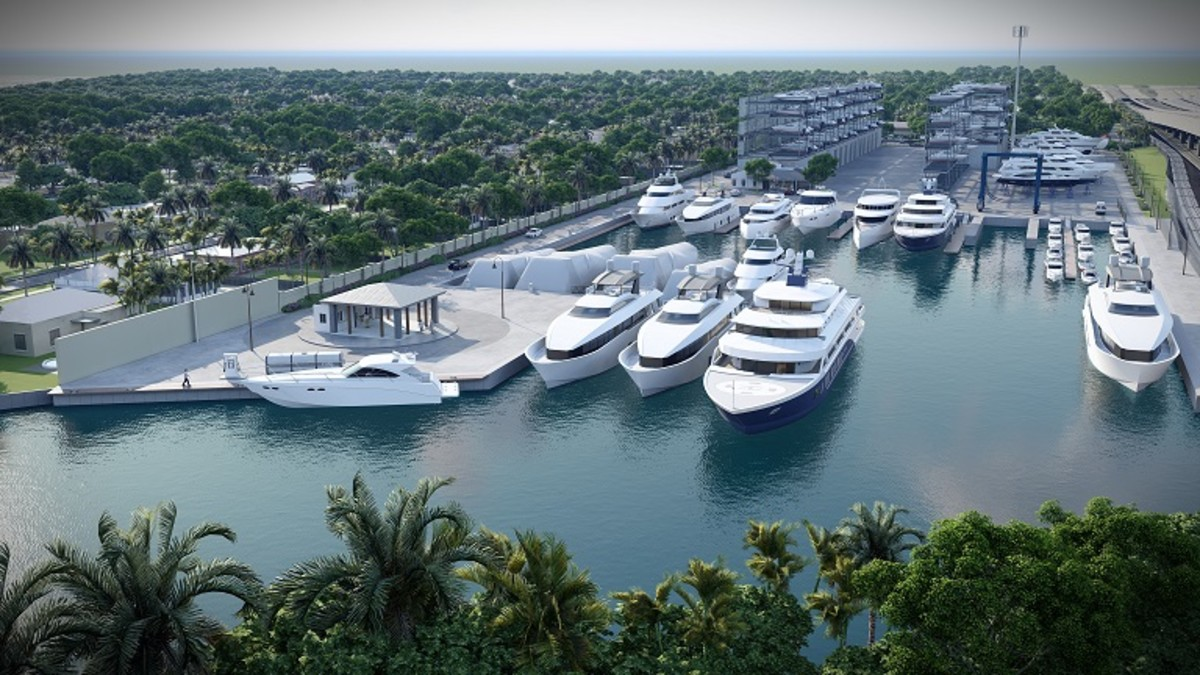 Port 32 Fort Lauderdale will include slips for large yachts and rack storage.