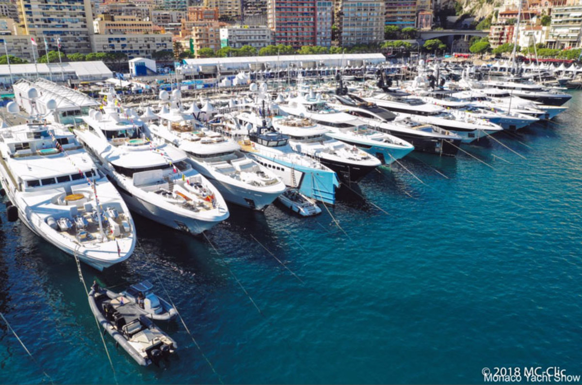 Yachts such as these at the Monaco boat show should be taxed on charters and diesel fuel.