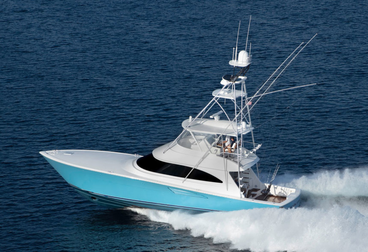 The 58 Convertible drew crowds at FLIBS.