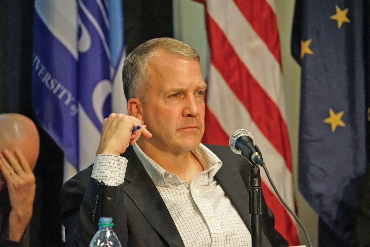 US Senator Dan Sullivan R-Alaska