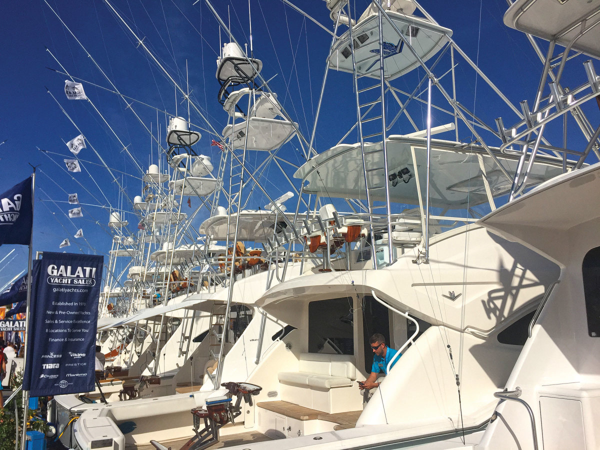 Galati Yacht Sales returns as an exhibitor.