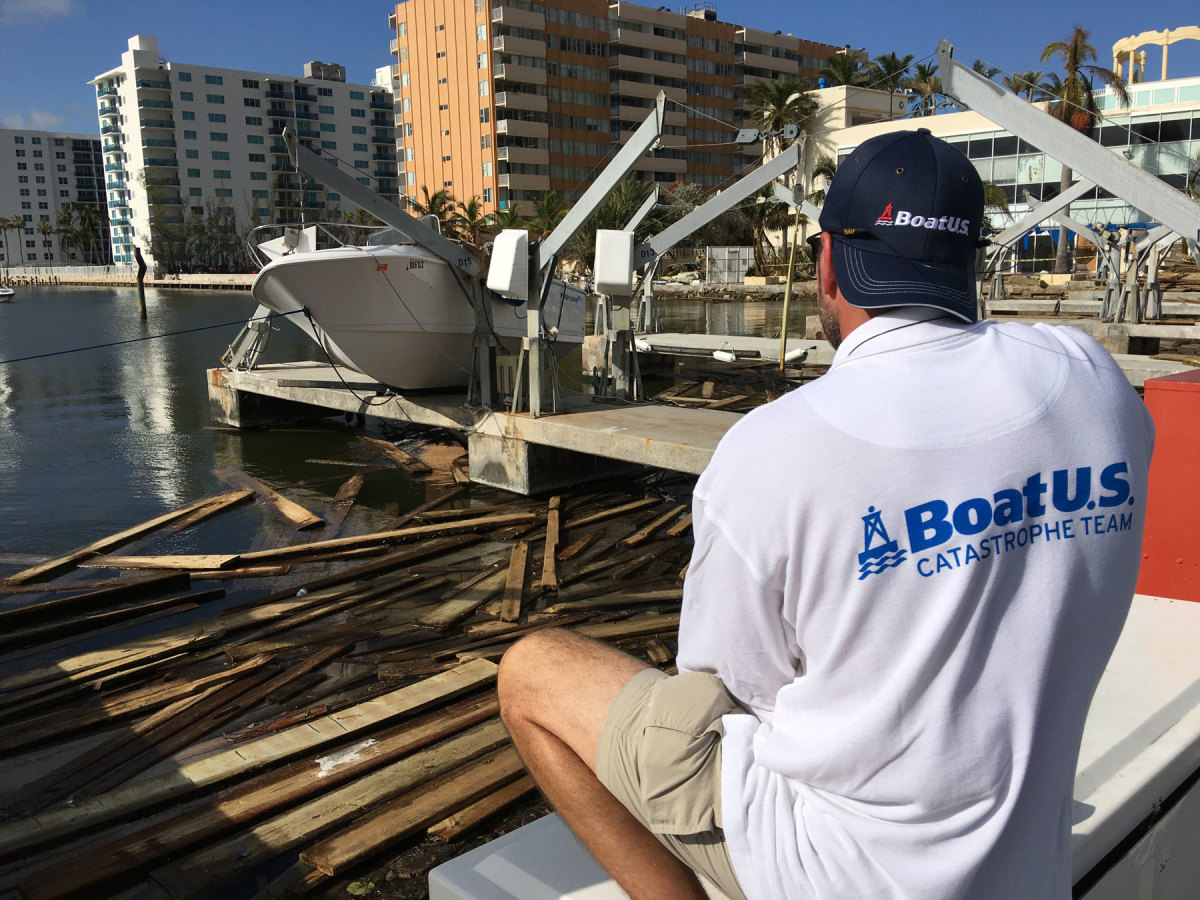 BoatUS CAT teams on salvage efforts after storms