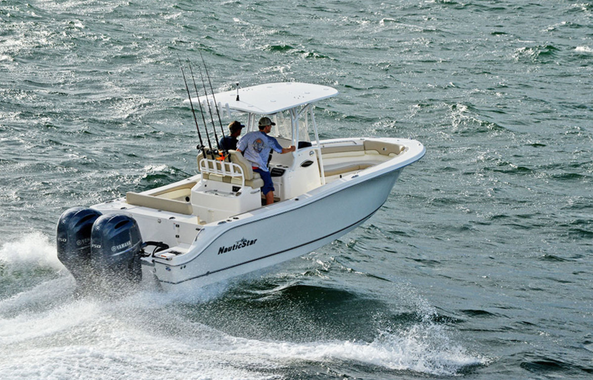 NauticStar's lineup includes center consoles. The company sells its boats in the United States through a network of about 70 dealers.