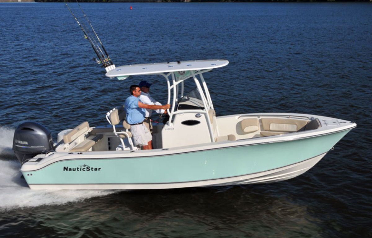 MasterCraft CEO Terry McNew discussed what was behind the company's acquisition of NauticStar, builder of this 22 XS.