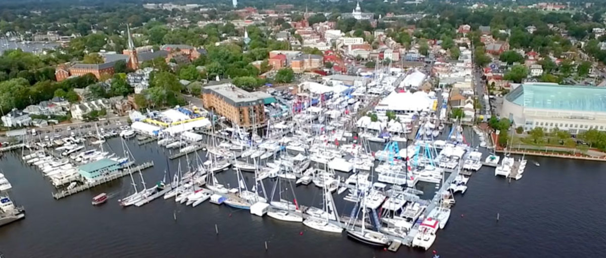 Several boats were slated to make their world and U.S. debuts at the United States Sailboat Show.