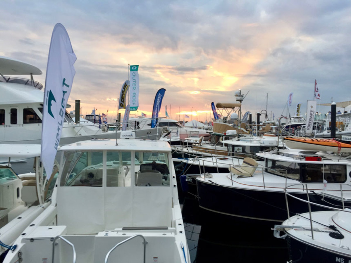 The Newport International Boat Show was held Sept. 14-17 in Newport, R.I.