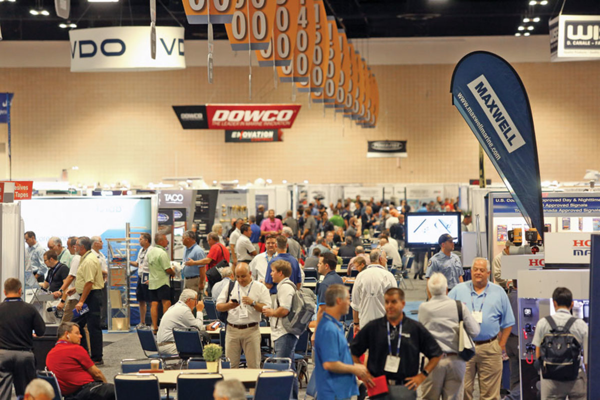 Attendance was light on the first day of the show, but the aisles were full the next day. IBEX drew 6,500 people to Tampa.