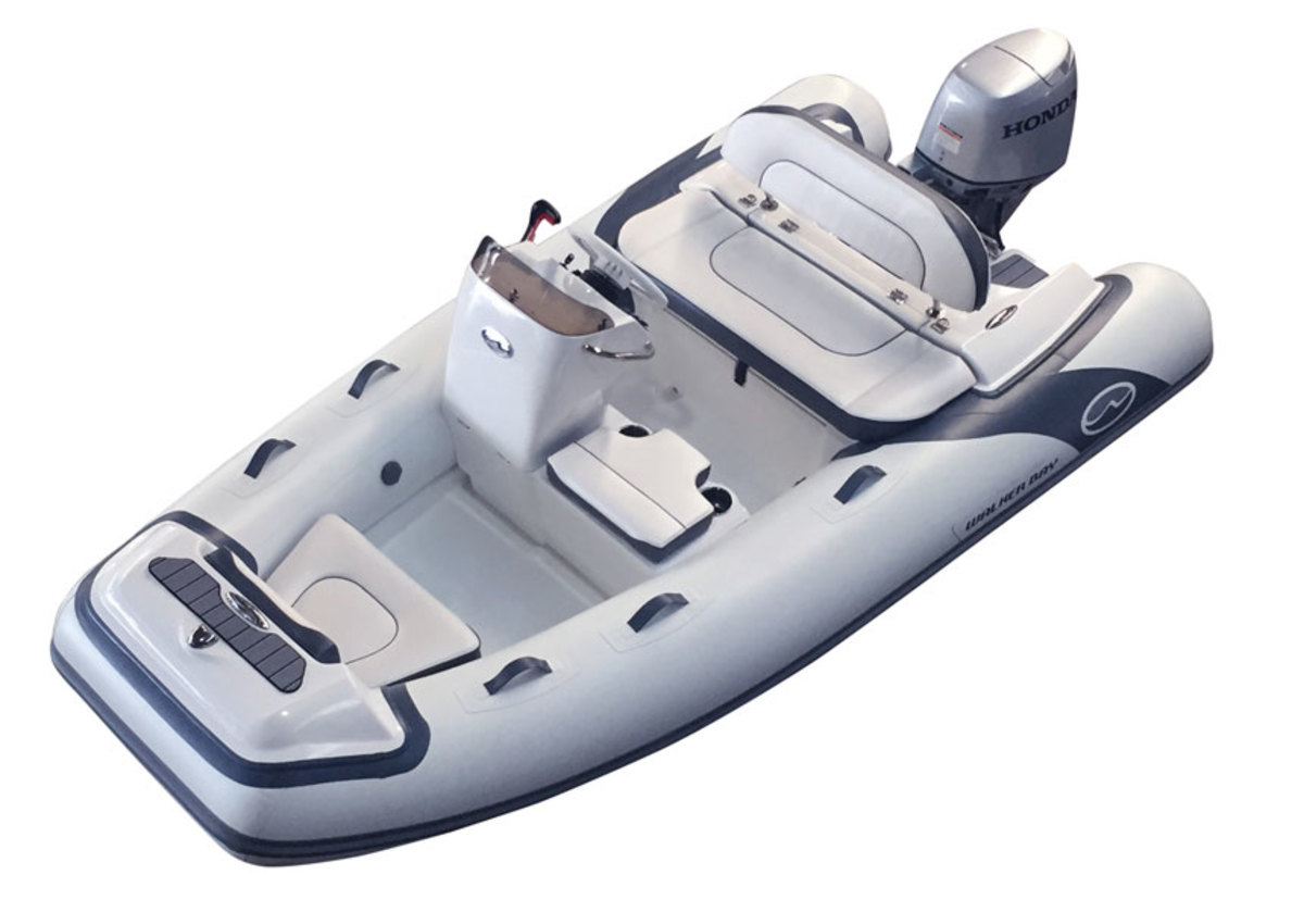 The Generation Light RIB is available in base and deluxe versions.
