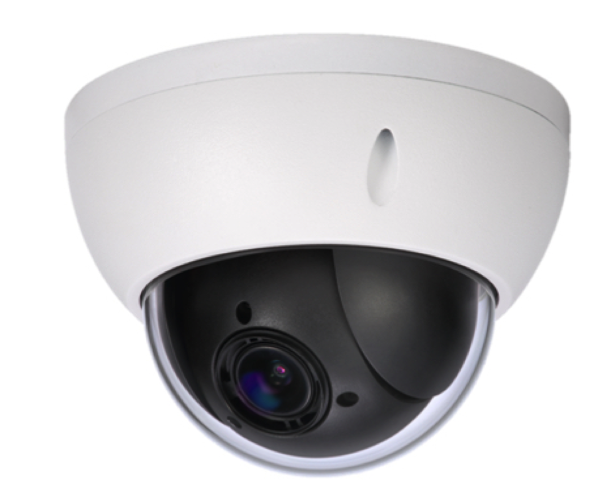 The GOST Mini-Dome PTZ 1080P high-resolution camera has all-new pan/tilt/zoom capabilities with a 4x optical zoom lens and a high-performance sensor.