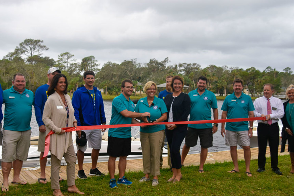 Freedom Boat Club of Jacksonville will open a new location in Ponte Vedra Beach, Fla. The club held a ribbon-cutting ceremony with members of the Ponte Vedra Beach Chamber of Commerce.