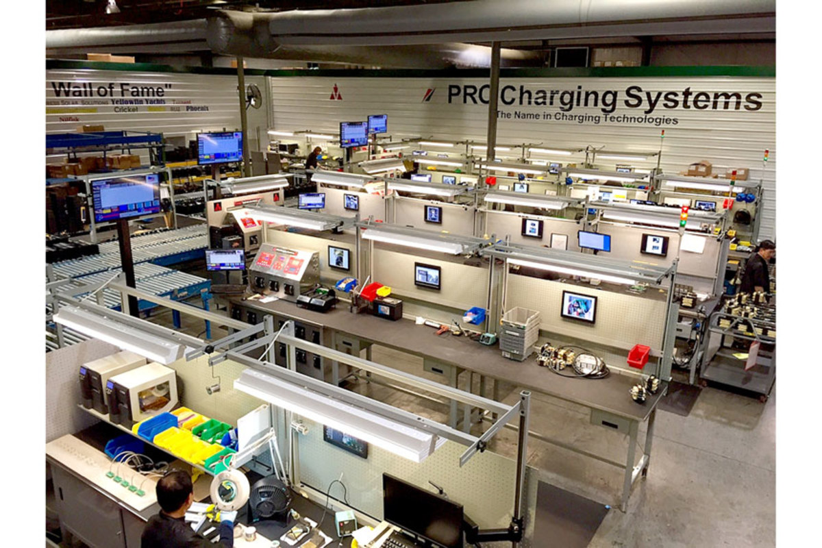 Tennessee-based Pro Charging Systems LLC, a manufacturer of technologically advanced battery chargers, uses MasterTools components to instantly share information across the company.