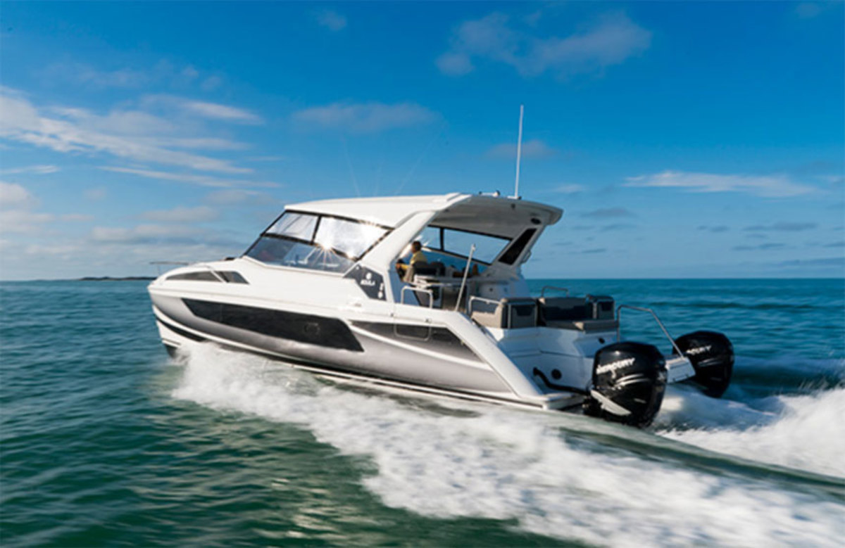 The Aquila 36, the newest in the company's lineup, will be presented at the Fort Lauderdale International Boat Show.