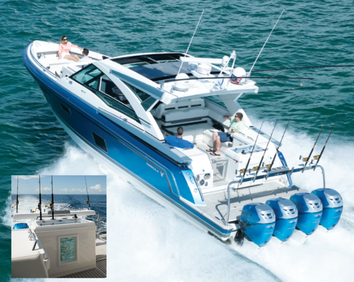 The 430 ASC combines performance, cruising and recreation in one boat.