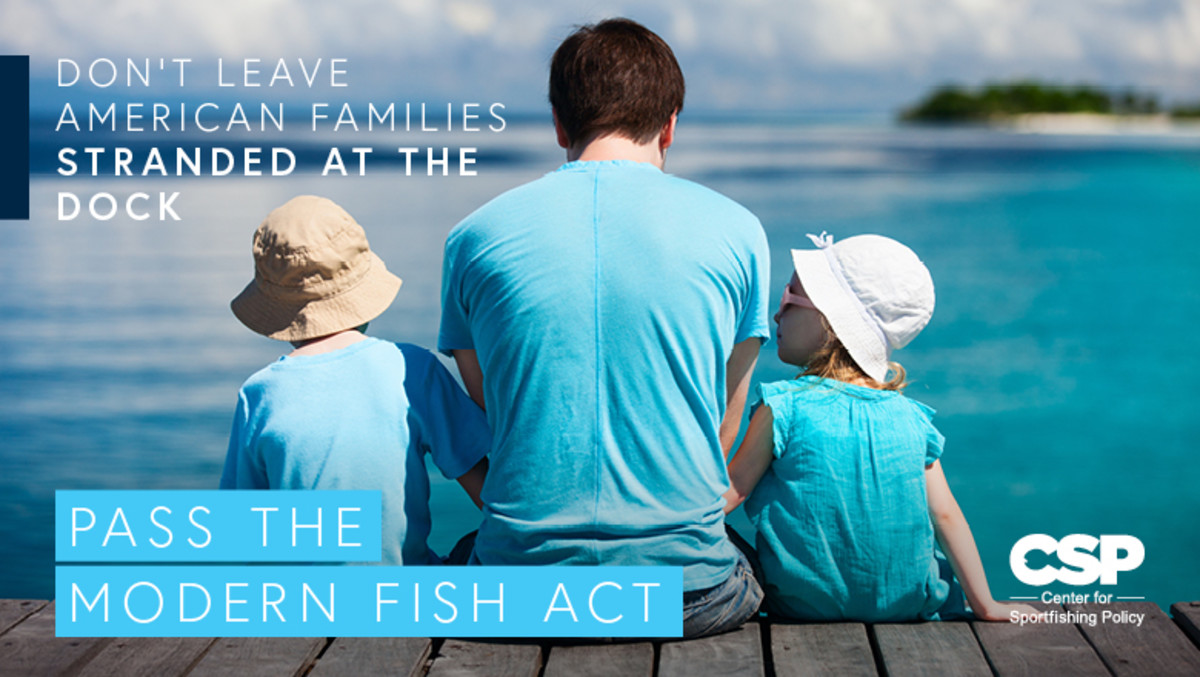 The Center for Sportfishing Policy is launching a social media campaign in support of the Modern Fish Act with sample tweets and content ideas for Facebook posts. The suggestions include photos, video and sample letters to send members of Congress.