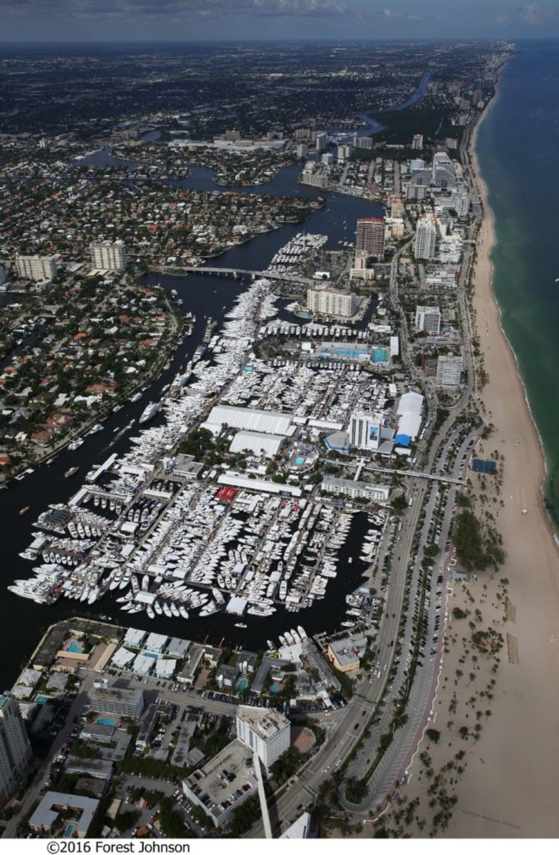 The Fort Lauderdale International Boat Show covers more than 3 million square feet of space.