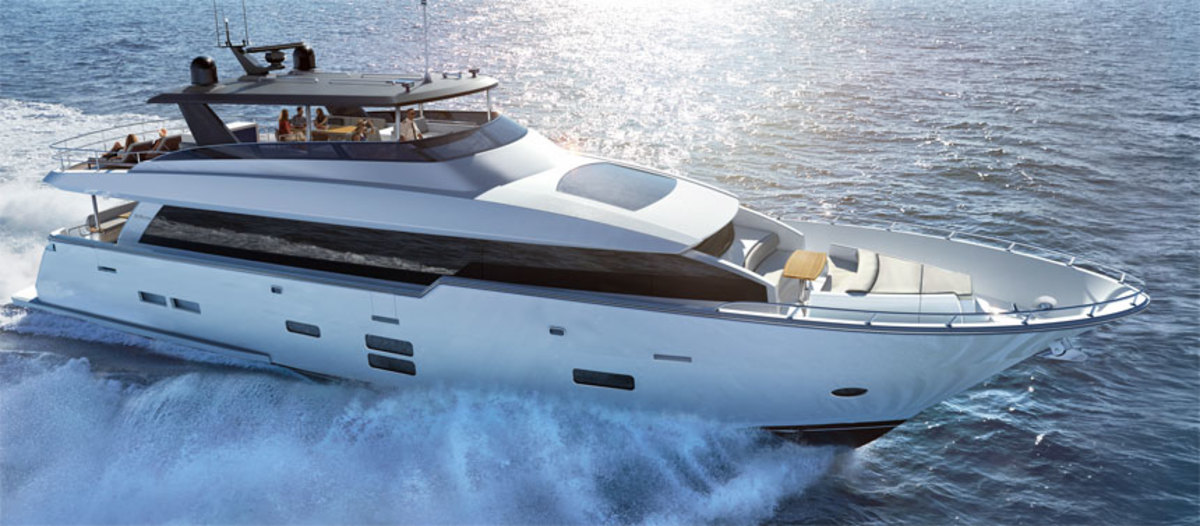 The M90 Panacera is the flagship of the Hatteras fleet.