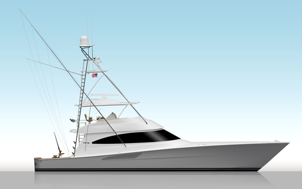 The 68 Convertible will make its world premiere at the Miami Yacht Show @ Collins Avenue in February.