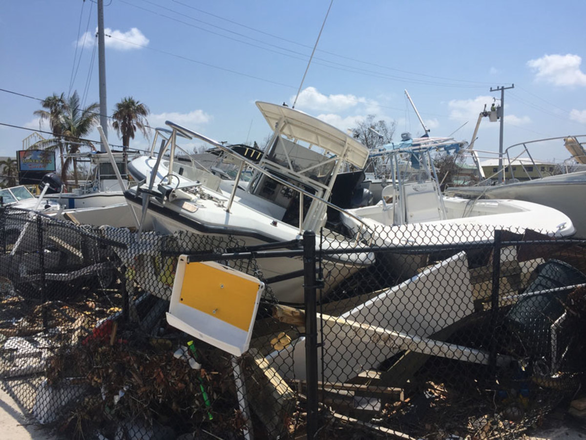 The NMMA is asking marine industry stakeholders to weigh in on how Congress could best allocate funds for hurricane relief in areas such as the Florida Keys, which were badly damaged by Hurricane Irma.