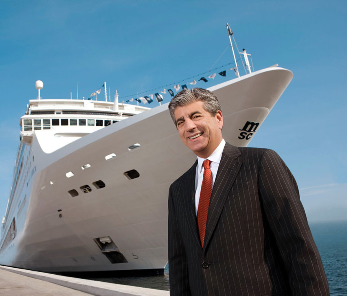 Rick Sasso, chairman of MSC Cruises North America, is among the people that the Coast Guard Foundation will honor at the dinner in Fort Lauderdale.