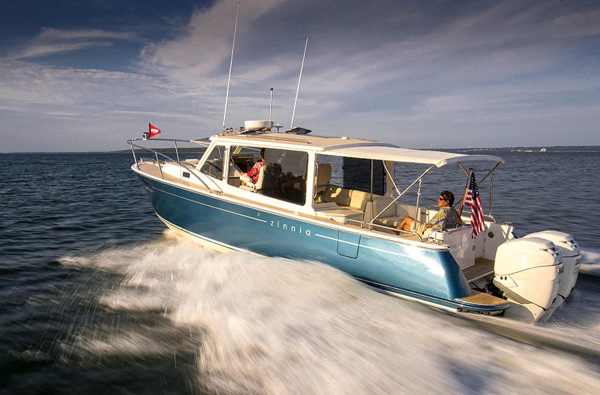 Zurn designed boat