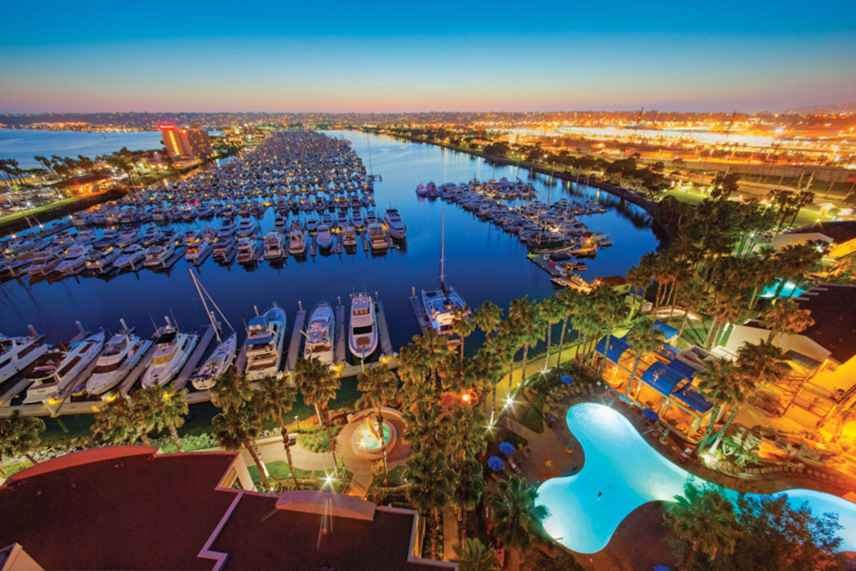 Safe Harbor Marinas has 65 locations across 15 states. Cabrillo Isle Marina in San Diego is one of them. More sites are under contract.