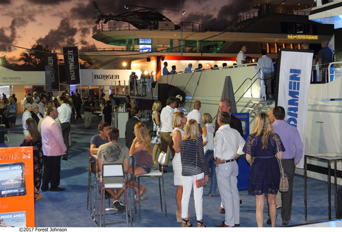 Crowds grew steadily through the five-day event. Show manager Informa Exhibitions said atttendance was up from 2016.