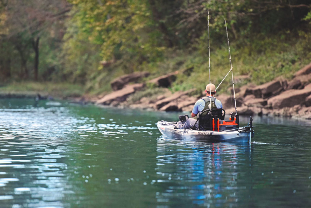 Torqeedo's Ultralight 403 A is popular for kayak fishermen.