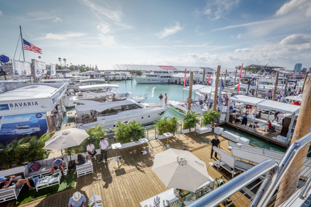 The Miami International Boat Show will have waterside dining options, fewer water taxi drop-off points and a new, all-inclusive new VIP option.
