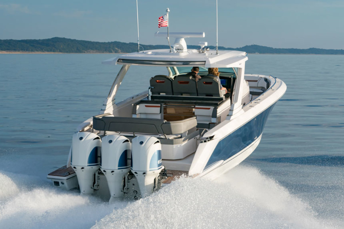Tiara Yachts introduced the Tiara Sport 38 LS at the Fort Lauderdale International Boat Show.