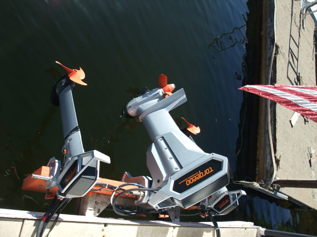 The Torqeedo outboards provided consistent, efficient power.