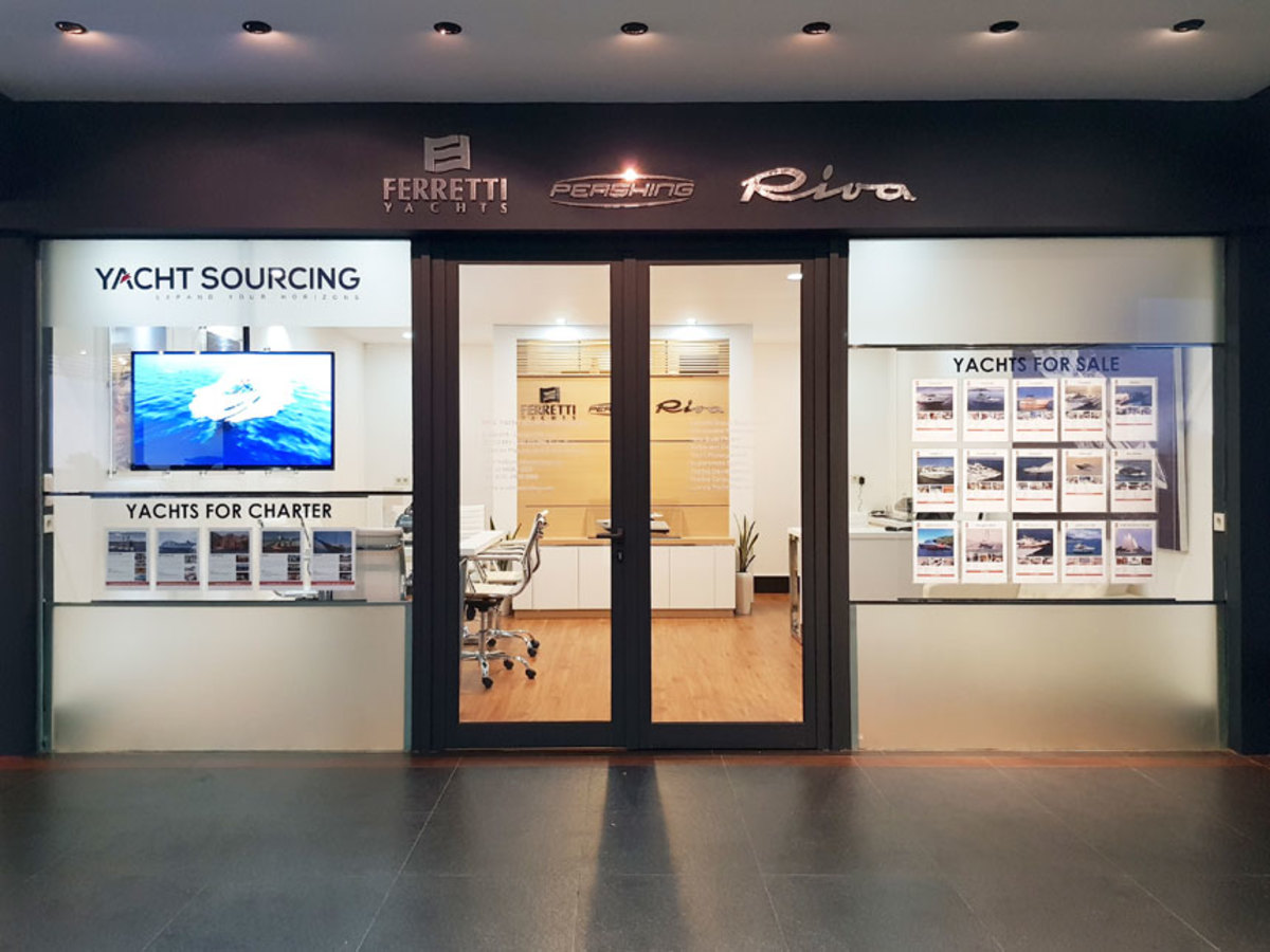 Yacht Sourcing's office in Jakarta is now a dealer for the Ferretti Group.