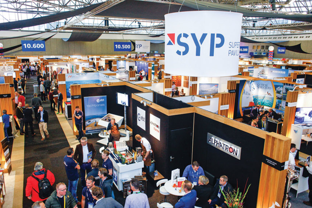 Metstrade attracted 1,552 exhibitors, 5 percent more than it did last year.