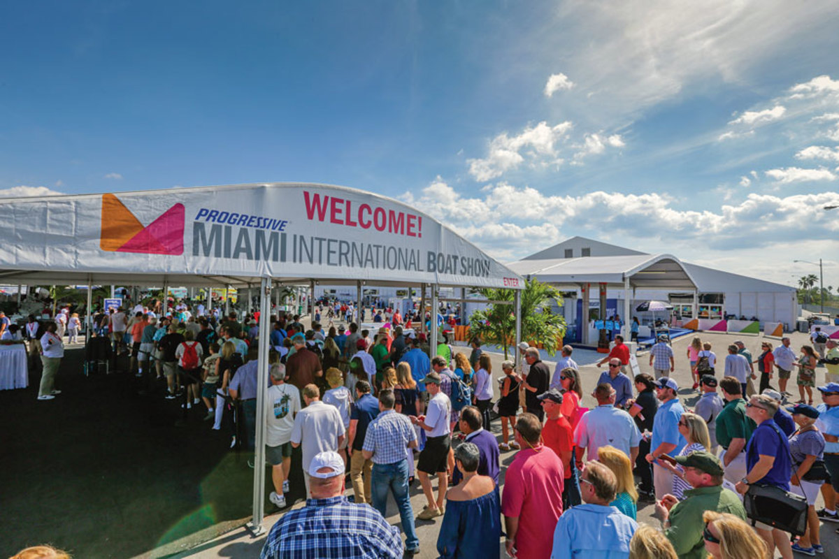Attendance at events such as the Miami International Boat Show has been rising and shows that buyers remain enthused about the industry's products.