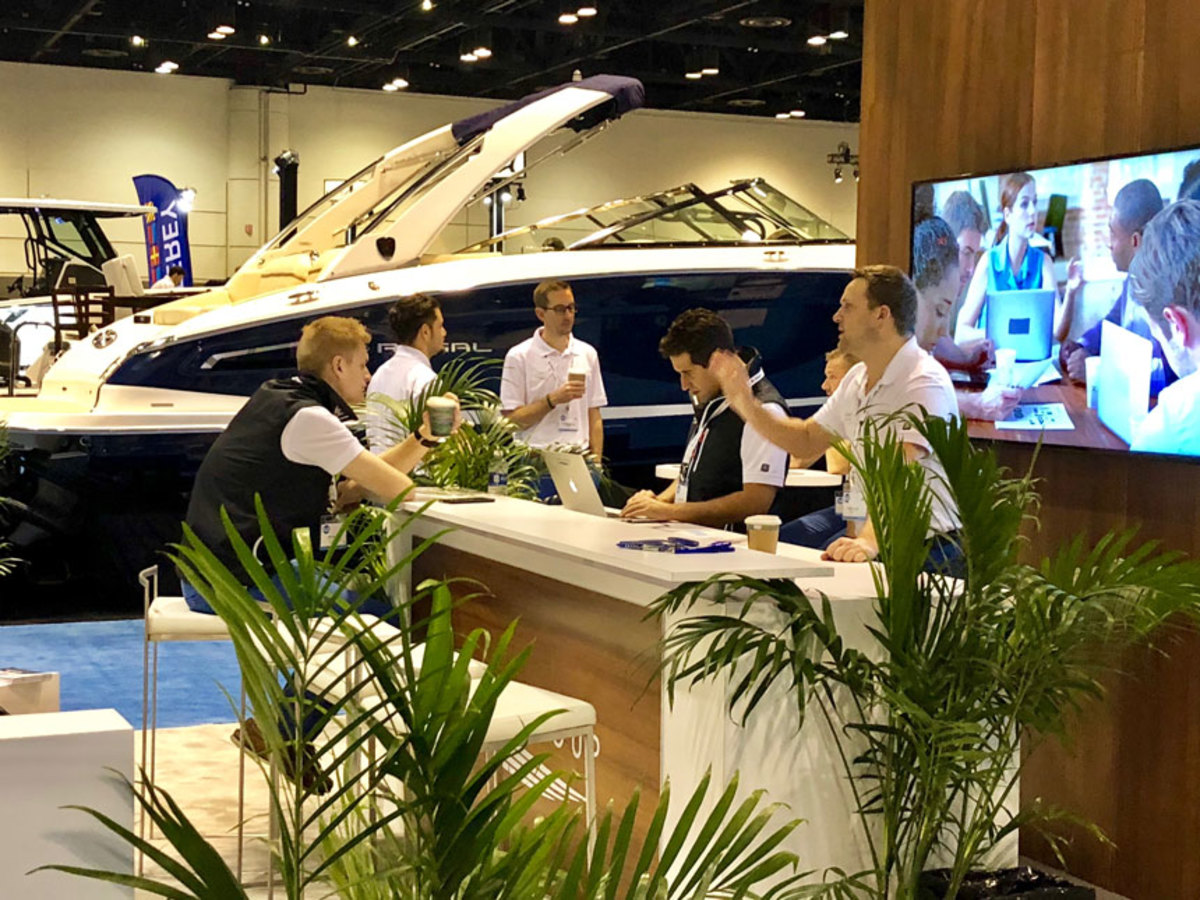 The MRAA says the number of dealers and exhibitors is at an all-time high for the Marine Dealer Conference and Expo. The conference runs through Wednesday.