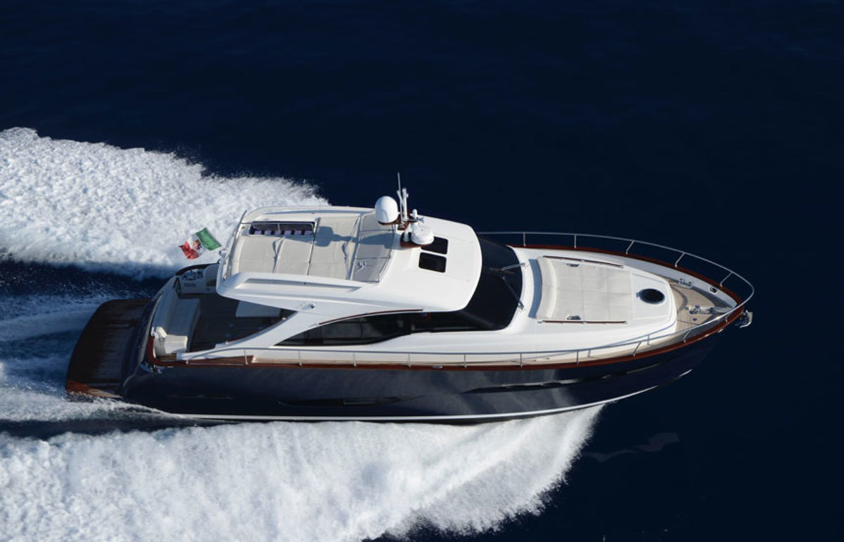 Austin Parker has added Massachusetts dealer Cape Yachts. Shown is the Italian builder's new AP48 Sundeck.