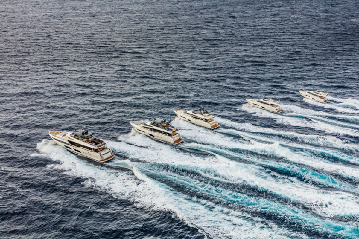 Ferretti Yachts received awards from the Robb Report China and the Lifestyle Media Group.
