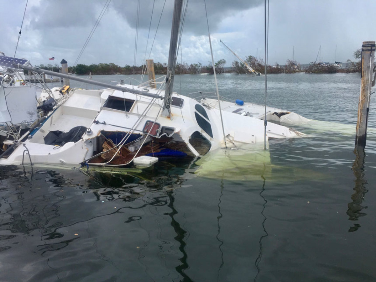 Marine companies are asking boaters to help identify where there is submerged debris and where waterways and sandbars have shifted after Hurricane Irma.