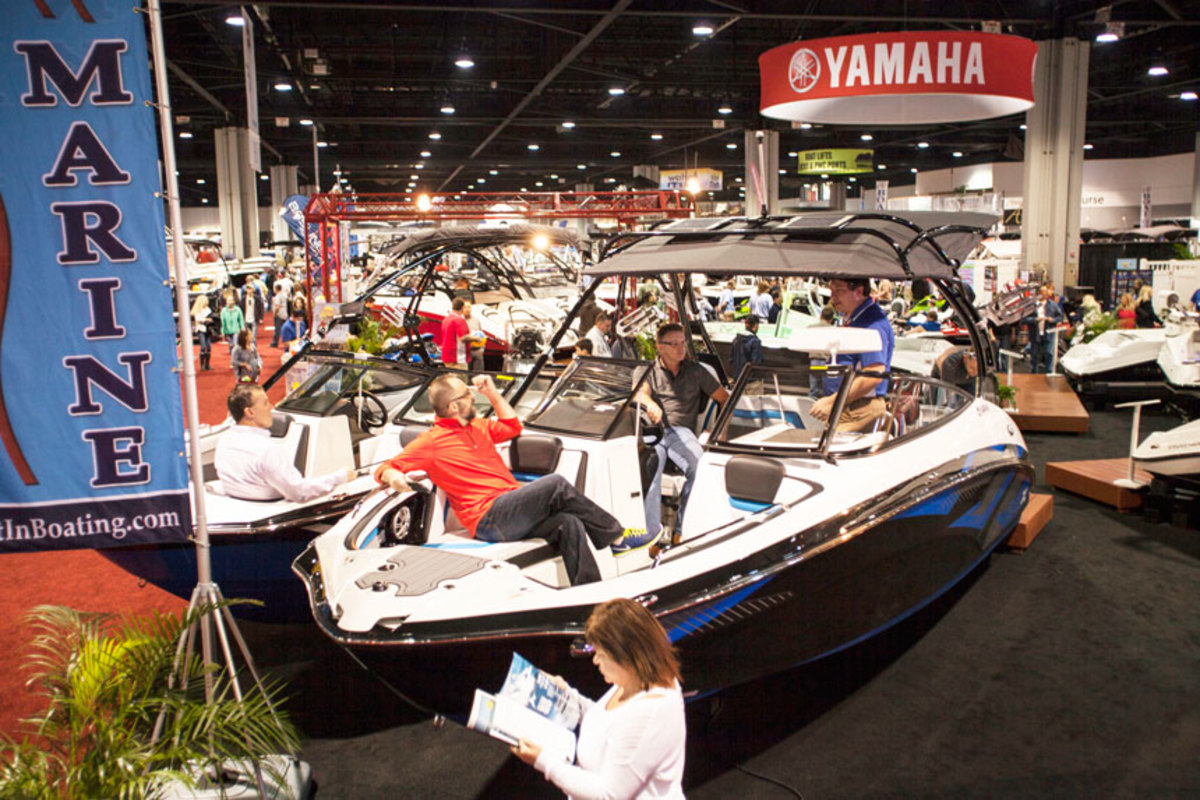 Organizers said the Progressive Atlanta Boat Show, which is in its 56th year, will feature more than 500 boats.